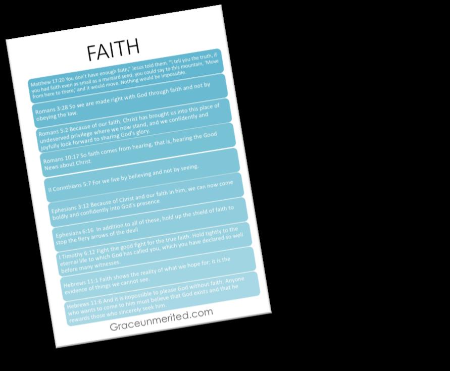 Faith Preview